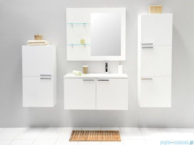 Antado Sycylia szafka z umywalką prawa 90x48x45 biały połysk KTS-140/2-WSR + UMMO-900-03R