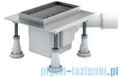 Schedpol odpływ liniowy Shortline do zabudowania płytkami 15x8x9,5cm OLP15/ST