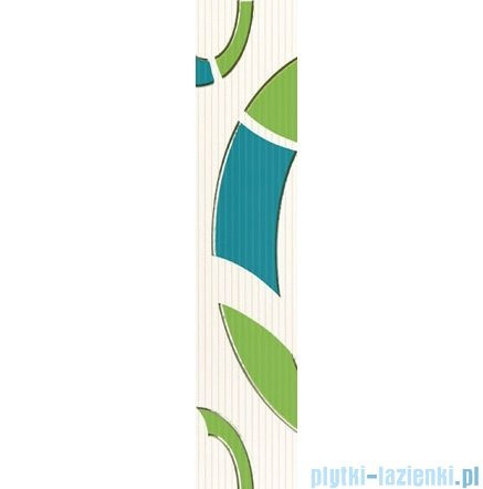 Domino Indigo 2 listwa ścienna 7,4x36