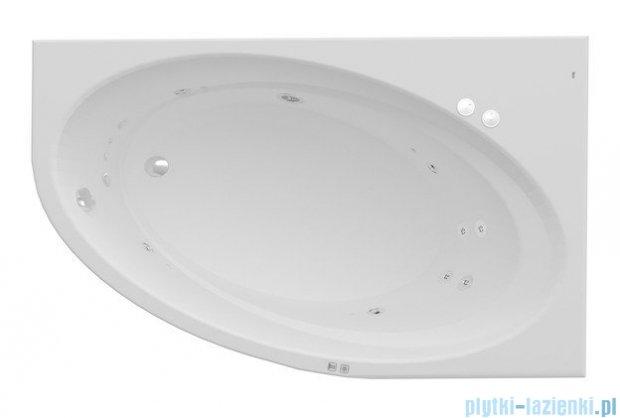 Roca Orbita wanna 140x100cm prawa z hydromasażem Smart Water Plus A24T196000