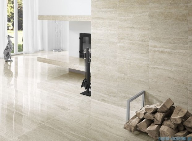 My Way Travertino Silver listwa 9,8x44,8