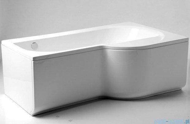 Poolspa Intea wanna asymetryczna 170x100 prawa + hydromasaż system Smart 2 PHARW10ST2C0000