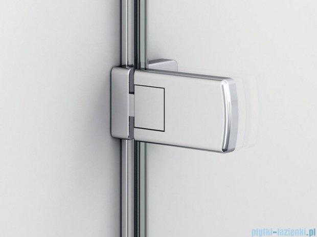 SanSwiss Melia ME1 drzwi prawe wymiary specjalne do 100cm pas satynowy ME1DSM11051
