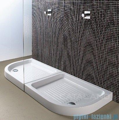 Catalano Base brodzik 90x70x12 cm ceramiczny prawy biały 17090D00