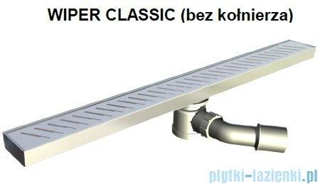 Wiper Odpływ liniowy Classic Sirocco 70cm bez kołnierza mat S700MCS100