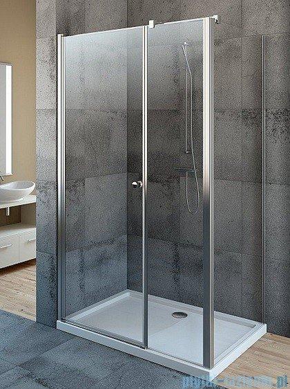 Radaway Eos KDS kabina prysznicowa 100x80 lewa szkło przejrzyste + Brodzik Argos D + Syfon 37550-01-01NL