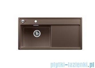 Blanco Zenar XL 6 S-F  Zlewozmywak Silgranit PuraDur komora lewa kolor: kawowy  z kor. aut. i szklaną deską do krojenia 519205