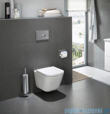Roca Gap Rimless Miska WC wisząca Maxi Clean+deska wolnoopadająca A34647L00M/A80148200U