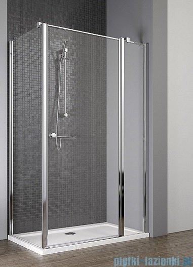 Radaway Eos II KDJ kabina prysznicowa 80x100 prawa szkło przejrzyste 3799420-01R/3799432-01L