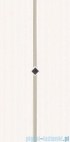 Paradyż Secret bianco murano inserto ścienne 29,5x59,5