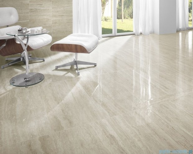 My Way Travertino Silver listwa meander 9,8x44,8