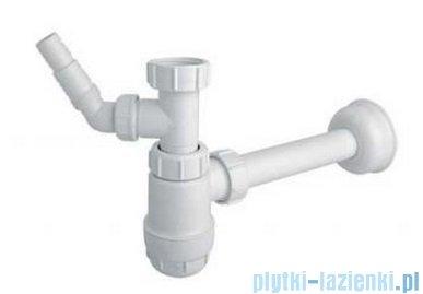 McAlpine Syfon umywalkowy butelkowy niski HC2WM-32