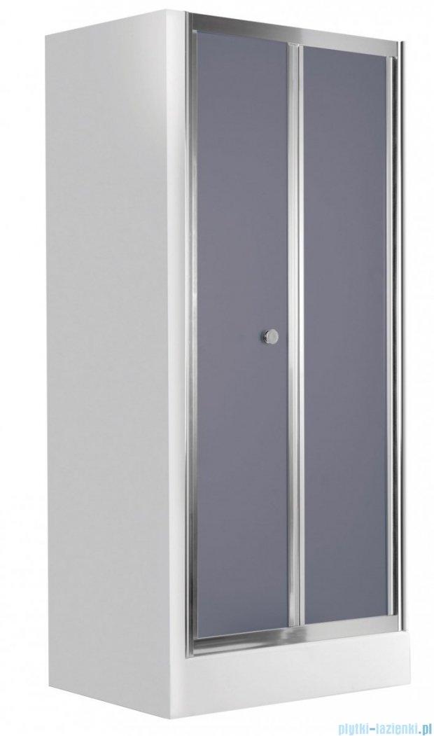 Deante Flex drzwi wnękowe składane grafit 90x185 cm KTL 421D