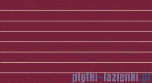 Dekor ścienny Tubądzin Colour Carmine 32,7x59,3