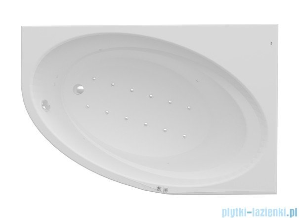 Roca Orbita wanna 150x100cm prawa z hydromasażem Smart Air Plus A24T211000