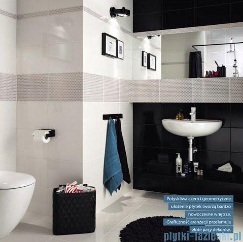 Domino Margot czarny płytka podłogowa 33,3x33,3