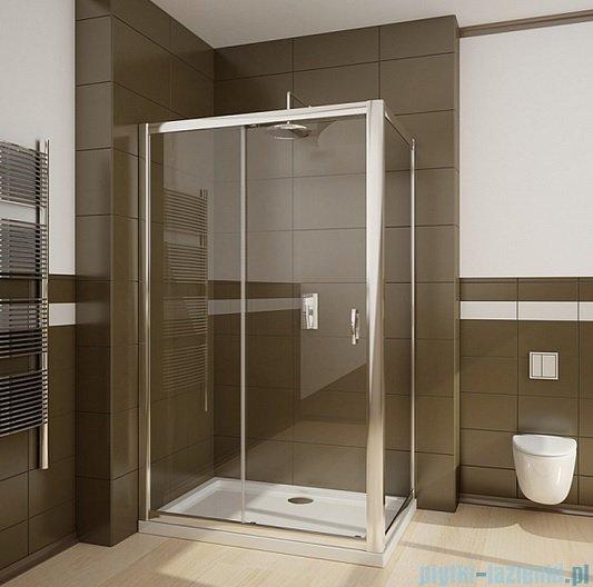 Radaway Premium Plus DWJ+S kabina prysznicowa 150x100cm szkło fabric 33343-01-06N/33423-01-06N
