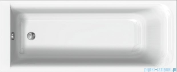 Koło Rekord wanna prostokątna z powłoką AntiSlide 160x70cm XWP1660101