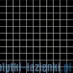 Mozaika ścienna Tubądzin Colour Black 30x30