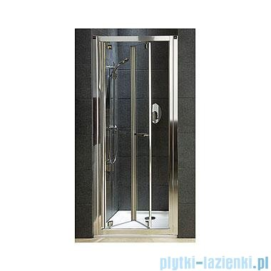 Koło Geo 6 drzwi wnękowe bifold 80+ścianka boczna GDRB80222003