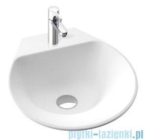 Marmorin Misa umywalka nablatowa bez otworu przelewowego i otworu na baterie 42x43 biała 633040020010