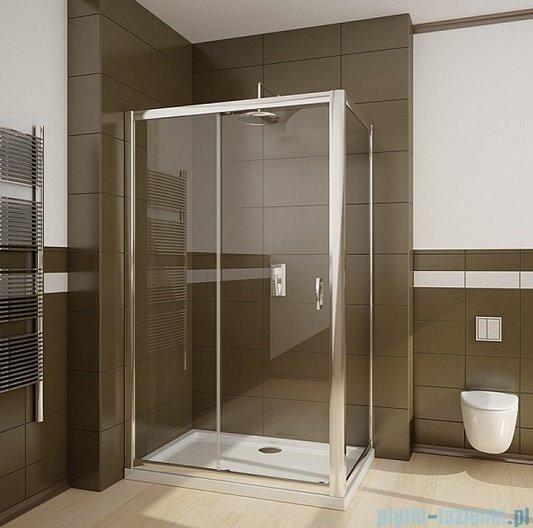 Radaway Premium Plus DWJ+S kabina prysznicowa 150x80cm szkło fabric 33343-01-06N/33413-01-06N