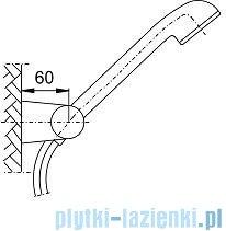 KFA Natrysk punktowy obrotowy JUPITER chrom 841-206-00