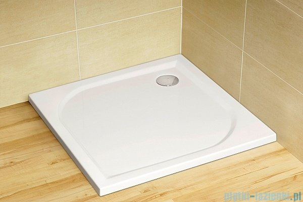 Radaway Eos II Walk-in kabina prysznicowa 100 prawa szkło przejrzyste + brodzik Delos C + syfon 3799502-01R/SDC1010-01