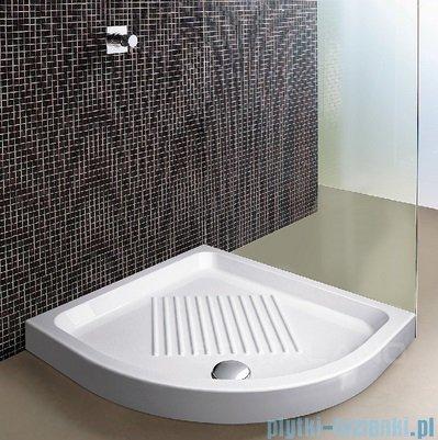 Catalano Base brodzik 90x90x12 cm ceramiczny półokrągły biały 19090A00