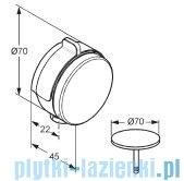 Kludi Rotexa Multi Zestaw odpływowo-przelewowy chrom 7182605-00