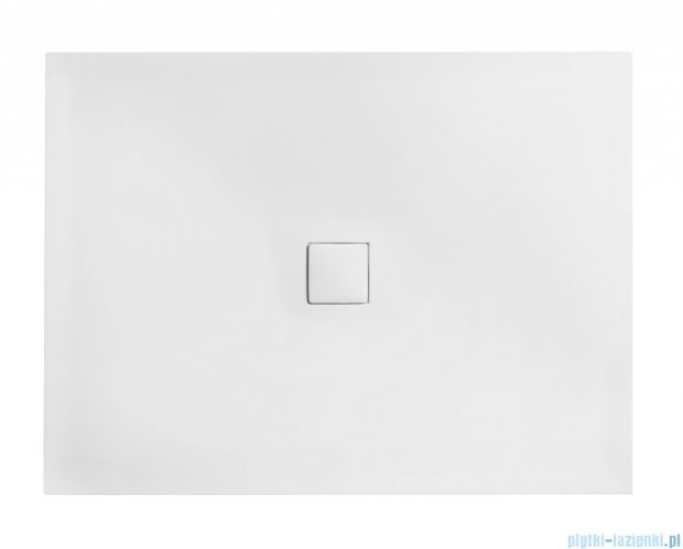 Besco Nox ultraslim white 140x90cm brodzik prostokątny biały/biały BMN140-90-BB