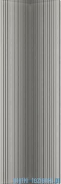 Paradyż Indy grafit paski struktura płytka ścienna 25x75