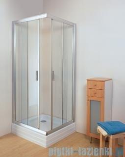 Ravak Kabina prysznicowa narożna Rapier NRKRV2 - 90 biały transparent 1AN70100Z1