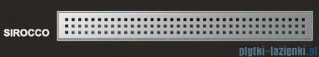 Wiper Odpływ liniowy Premium Sirocco 100cm z kołnierzem szlif S1000SPS100