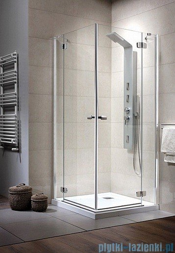 Radaway Kabina prysznicowa Fuenta KDD 100x90 szkło przejrzyste 381064-01L