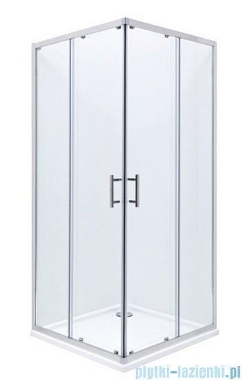 Roca Town Kabina kwadratowa szkło przejrzyste 90x90x195cm AMP160901M
