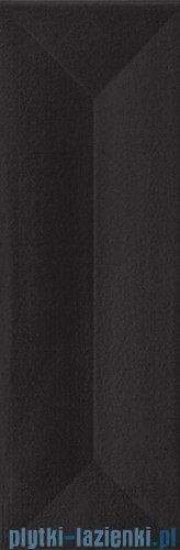 Paradyż Favaro nero struktura połysk płytka ścienna 9,8x29,8