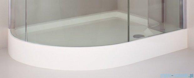 Sea Horse Sigma kabina Klio prawa 120x85cm przejrzyste BK261TP+brodzik prysznicowy BKB261P