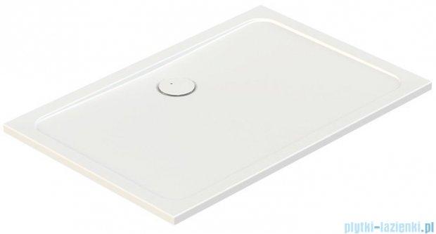Sanplast Free Line brodzik prostokątny B/FREE 80x100x2,5cm+stelaż 615-040-4370-01-000