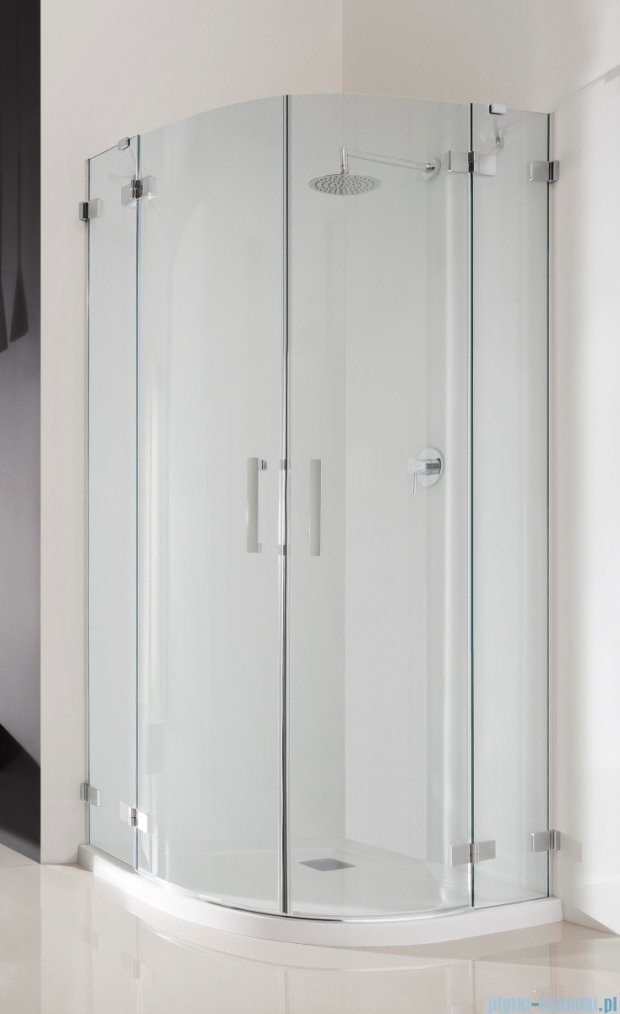 Radaway Euphoria PDD Kabina prysznicowa 100 część lewa szkło przejrzyste 383003-01L