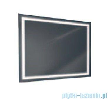 Antado lustro z ramką świetlną LED ciepłe 100x80cm L1-E4-LED3