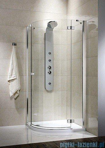 Radaway Fuenta PDJ Kabina prysznicowa 90x90 prawa szkło grafitowe 381004-05NR