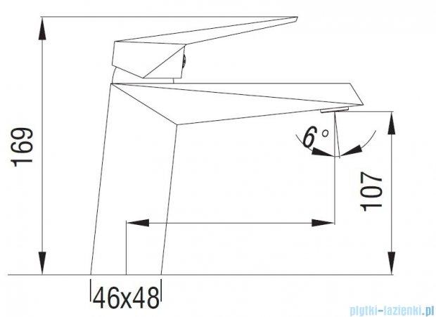 Art Platino Rok bateria umywalkowa chrom ROK-BUN.010C