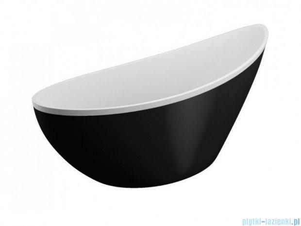 Polimat Zoe obudowa wanny czarna 180x80cm 00998