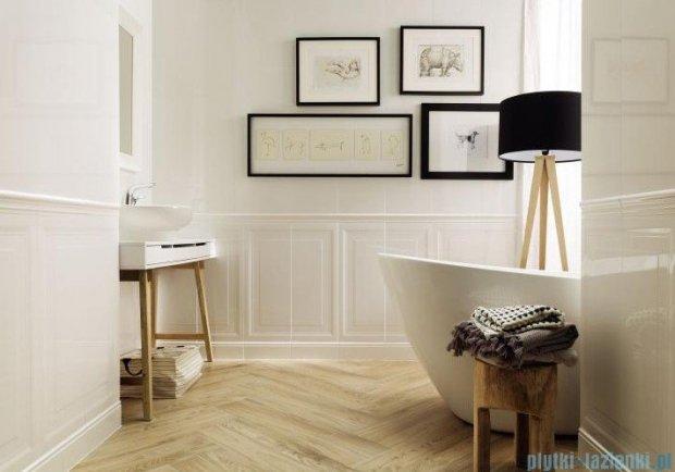 Tubądzin Royal Place wood STR kostka podłogowa 9,8x9,8