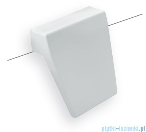 Besco Zagłówek Modern / Infinity biały do wanien SX-211