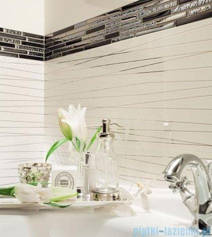 Tubądzin Abisso bar white płytka ścienna 7,8x23,7