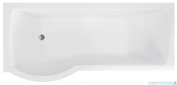 Besco Inspiro 160x70cm Wanna asymetryczna z parawanem lewa #WAI-160-PLE
