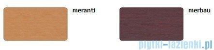 Sanplast Altus obudowa krótka do wanny prostokątnej OWP-ALT/EX D-M 90cm merbau 620-120-0260-20-000
