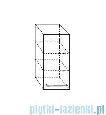 Antado Variete Szafka wisząca 30x20x72 szary połysk FM-418-K917
